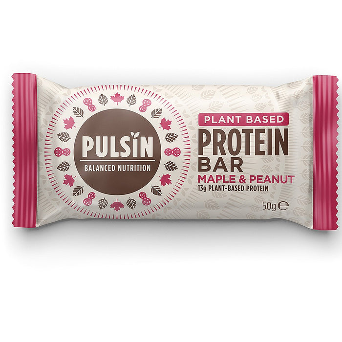 Pulsin | Maple & Peanut Protein Bar | 1 x 50g