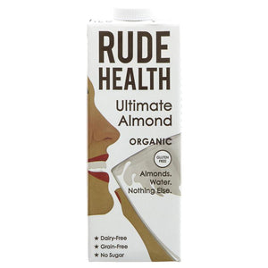 Rude Health | Ultimate Almond Milk - Organic | 1 x 1l