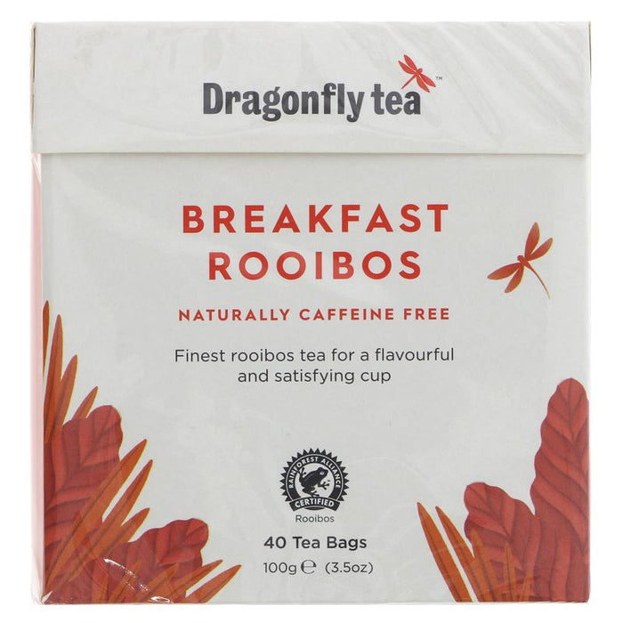 Dragonfly Tea | Rooibos Breakfast | 1 x 40 Bags