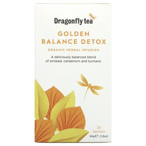 Dragonfly Tea | Golden Balance Detox | 1 x 20 Bags