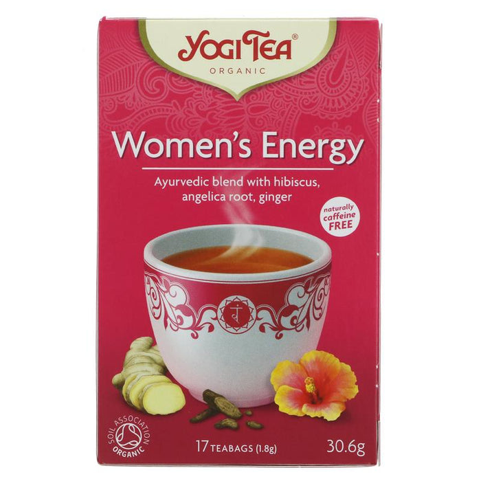 Yogi Tea | Women's Energy | 1 x 17 Bags