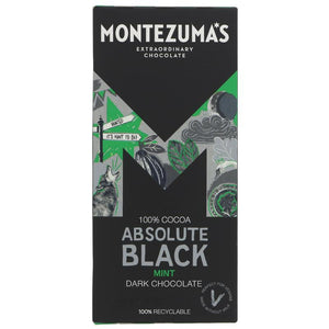 Montezumas | Absolute Black With Mint | 1 x 90g