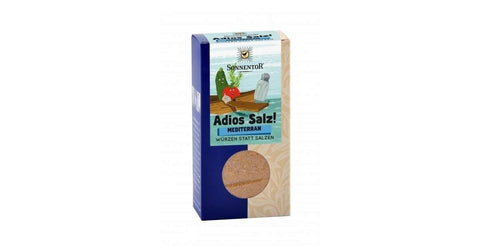 Sonnentor | Adios Salt Mediterranean Seasoning With Vegetables Organic | 1 X 55g. Sold By Superfood Market
