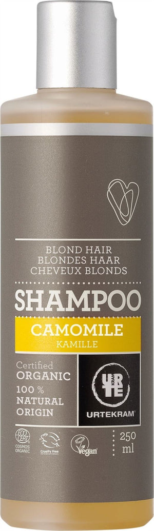 Urtekram | Organic Camomile Shampoo (blond Hair) | 1 X 250ml. Sold By Superfood Market