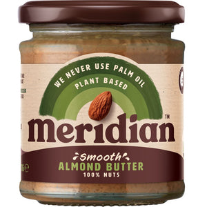 Meridian | Almond Butter Smooth | 1 x 170g | Meridian