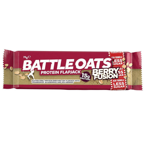 Battle Oats | Battle Oats  High Protein Bar - Berry Fusion | 1 x 70g