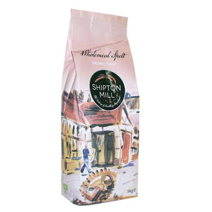 Shipton Mill | Spelt Flour - Wholemeal; Org | 1 X 1kg. This Product Is :- Vegan,organic