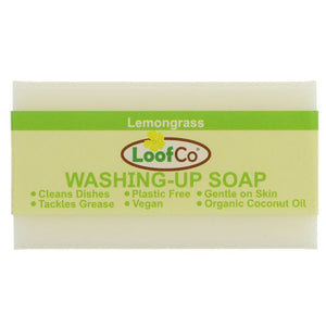 Loofco | Washing Up Soap - Lemongrass | 1 x 100g | Loofco