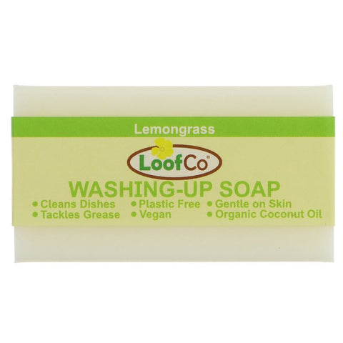 Loofco | Washing Up Soap - Lemongrass | 1 X 100g. This Product Is :- Vegan