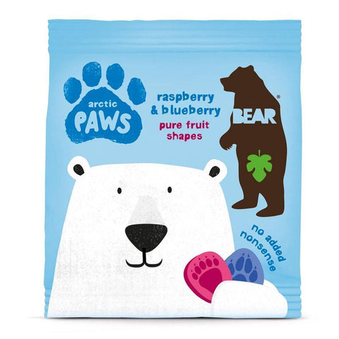 Bear | Paws- Raspberry & Blueberry | 1 X 20g. This Product Is :- Gluten Free,vegan