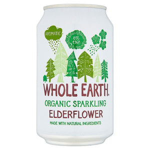 Whole Earth | Sparkling Elderflower - Og | 1 x 330ml. Sold By Superfood Market