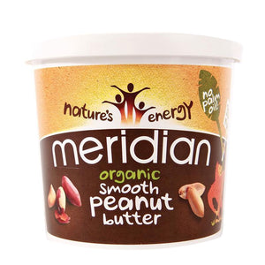 Meridian | Peanut Butter Smooth-organic | 1 x 1kg | Meridian