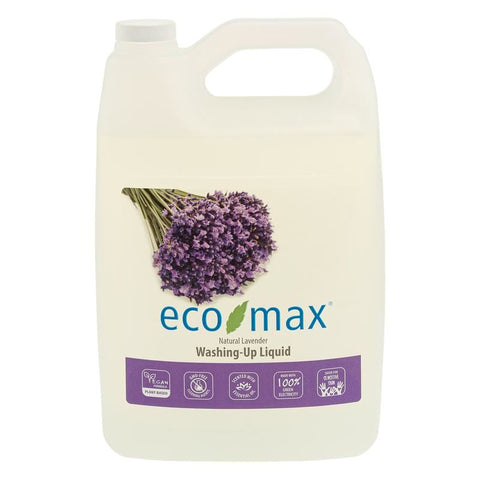 Eco-max | Washing Up Liquid Lavender | 1 X 4ltr. Sold By Superfood Market