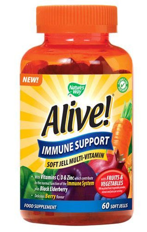 Natures Way | Alive! Immune Support Softgel Multivitamin | 1 x 60s | Natures Way