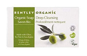 Bentley | Deep Cleansing Olive Tea Tree Eucalyptus Soap | 1 x 150g | Bentley