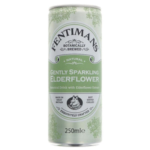 Fentimans | Gently Sparkling Elderflower | 1 x 250ml | Fentimans