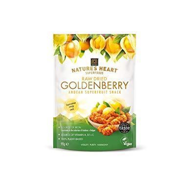 Natures Heart | Dried Goldenberry | 10 x 90g