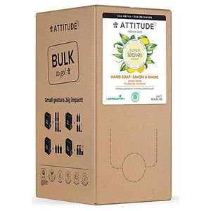 Attitude | Bulk To Go Super Leaves Hand Soap Lemon Leaves | 1 x 2ltr | Attitude