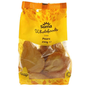Suma Prepacks | Pears - So2 | 1 X 250g. This Product Is :- Vegan