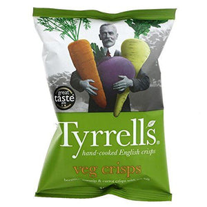 Tyrrells | Mixed Roots | 12 X 125g. This Product Is :- Gluten Free,vegan