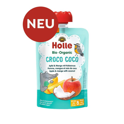 Holle | Croco Coco - Apple, Mango, Coconut | 1 X 100g. Sold By Superfood Market