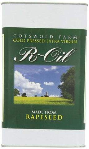 Campbell Environmental Oils  A | R-oil  Cold Pressed Rapeseed Oil | 1 x 5ltr