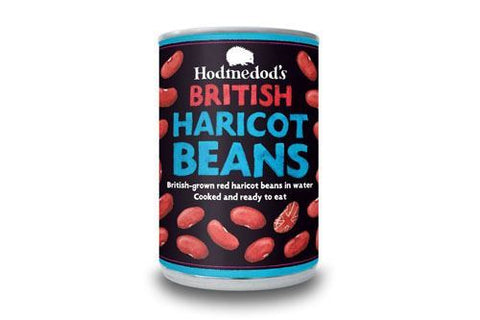Hodmedods | Red Haricot Beans In Water | 1 x 400g