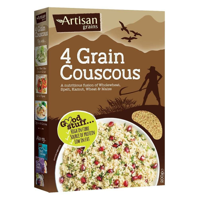 Artisan Grains | Four Grain Couscous | 1 x 200g