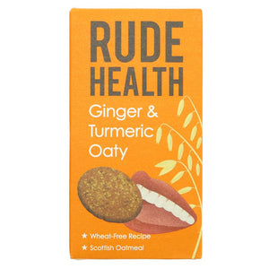 Rude Health Foods | Ginger & Turmeric Oaty | 1 X 200g. This Product Is :- Vegan