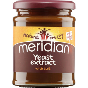 Meridian | Yeast Extract + B12 And Salt | 1 x 340g | Meridian