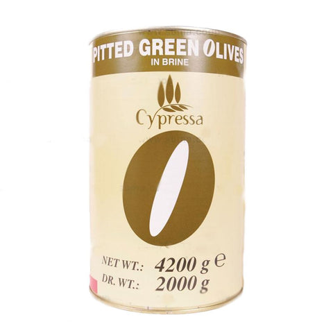 Cypressa | Cypressa Pitted Green Olives | 2 Kg