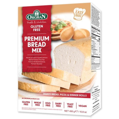 Orgran | Premium Bread Mix | 1 X 450g. Sold By Superfood Market