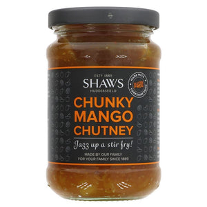 Shaws | Mango Chutney - Chunky | 1 X 300g. This Product Is :- Gluten Free,vegan