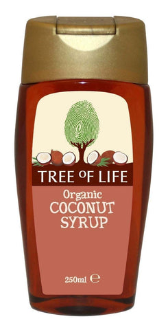 Tree Of Life | Tree Of Life  Organic Coconut Syrup | 1 x 250ml