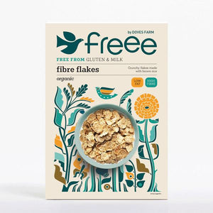 Doves Farm | Fibre Flakes | 1 X 375g. This Product Is :- Gluten Free,organic