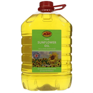 Ktc | Sunflower Oil - Refined | 5l. This Product Is :- Vegan