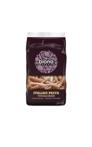 Biona | Wholegrain Penne - Bronze Extruded | 1 x 500g