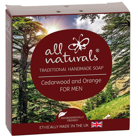 All Natural | Cedarwood Natural Organic Soap Bars | 1 X 100g. Sold By Superfood Market