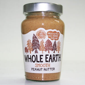 Whole Earth | Peanut Butter -smooth Original | 1 X 340g. This Product Is :- Gluten Free,vegan
