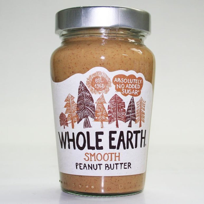 Whole Earth | Peanut Butter -smooth Original | 1 x 340g