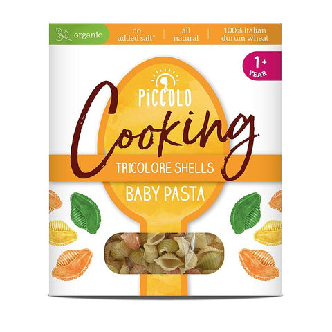 Piccolo Foods Ltd A | Piccolo  Organic Baby Pasta Shells - 12m+ | 1 X 400g. Sold By Superfood Market