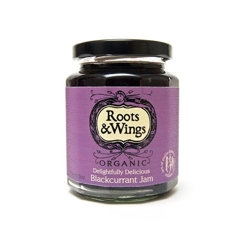 Roots & Wings | Blackcurrant Jam | 1 x 340g