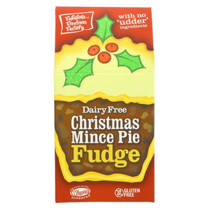 Fabulous Free From Factory | Mince Pie Fudge | 1 X 125g. Sold By Superfood Market