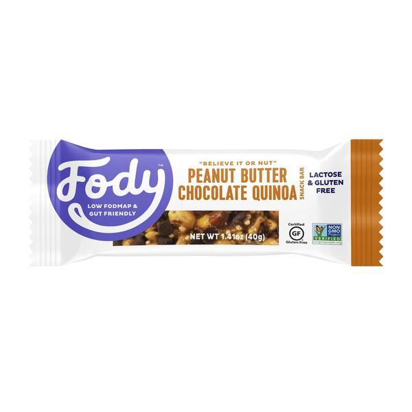 Fody | Peanut Butter Chocolate & Quinoa Bar | 1 x 40g