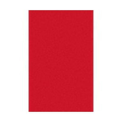 Duni | 138x220cm Red Dunisilk Table Cover | 1 x Single