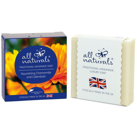 All Natural | Chamomile & Calendula Natural Organic Soap Bars | 1 X 100g. Sold By Superfood Market