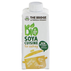 The Bridge | Soya Cream - Organic | 1 X 200ml. This Product Is :- Vegan,organic