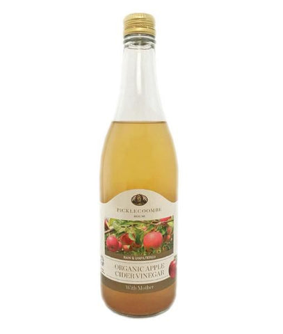 Picklecoombe House | Organic Apple Cider Vinegar With Tumeric & Long Pepper Infus | 1 X 500ml. Sold By Superfood Market