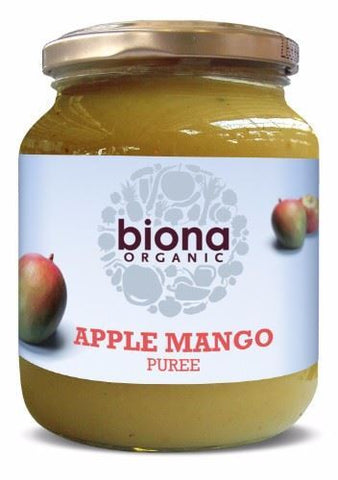 Biona | Apple & Mango Puree | 1 x 360g