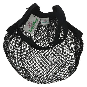 Bags2keep | Black String Cotton Bag | 1 x Bag | Bags2keep
